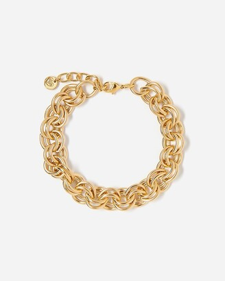 Express Tess + Tricia Gold Chain Bracelet