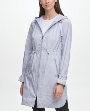 Cole Haan Hooded Anorak Raincoat