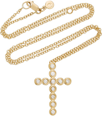 Octavia Elizabeth Nesting Gem 18K Yellow Gold & Diamond Necklace