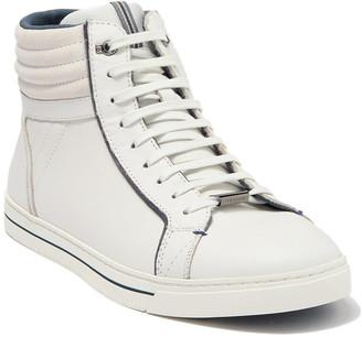 Ted Baker Glyburt Leather High-Top Sneaker