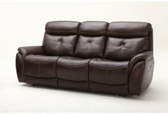 Homerun Leather Reclining Sofa Southern Motion