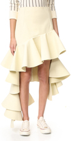 Jacquemus Tiered Skirt