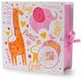 Tricoastal Design Tri Coastal Design Tri-Coastal Design Animal Keepsake Box Book in Pink