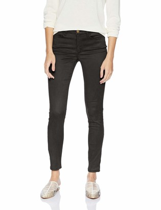 Daily Ritual Cotton Sateen 5-Pocket Skinny Pant Dark Grey 10