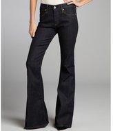 AG Adriano Goldschmied dark blue denim 'The Farrah' bell bottom jeans