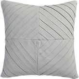 "CB2 Meridian Light Grey 16"" Pillow With Feather Insert"