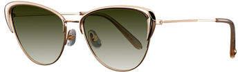 Garrett Leight Vista Cat-Eye Gradient Sunglasses