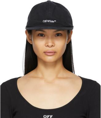 Off-White Black Bookish Baseball Cap