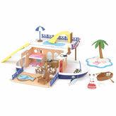 International Playthings Calico Critters Seaside Cruiser Houseboat