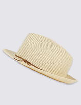 M&S Collection Trilby Summer Hat