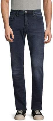 Buffalo David Bitton Five-Pocket Buttoned Jeans