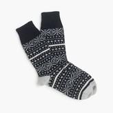 J.Crew CorgiTM cashmere Fair Isle socks