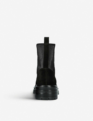 Gianvito Rossi Martis 20 leather combat boots