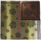 Kenzo multi tiger scarf - women - Modal/Cotton - One Size