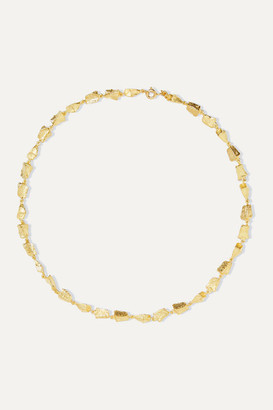 Sebastian Remnant Gold Vermeil Necklace - one size