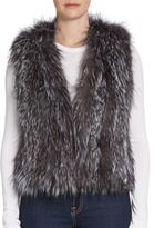 Saks Fifth Avenue Dyed Fox Fur Vest