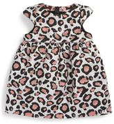 Little Marc Jacobs Infant Girl's Couture Fancy Leopard Print Dress
