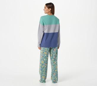 Cuddl Duds Comfortwear Regular Length Pajama Set