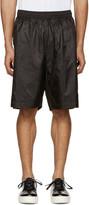 Diesel Black Gold Black Nylon Shorts