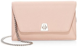 Akris Mini Anouk Envelope Leather Crossbody Bag