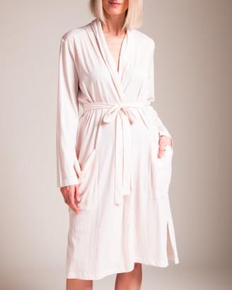 Skin Organic Pima Cotton Kathie Robe