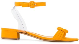 Alexandre Birman knot low heel block sandals