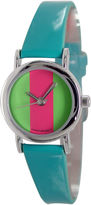 JCPenney FASHION WATCHES Womens Mini Strap Watch