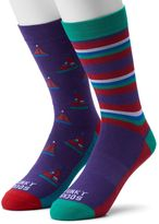 Men's Funky Socks 2-pack Sailboat Derby Socks