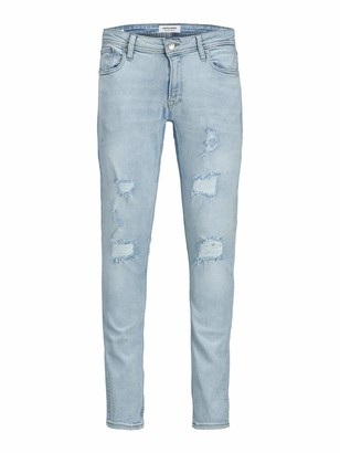 Jack and Jones Men's Jjiliam Jjoriginal Am 202 50sps Noos Skinny Jeans