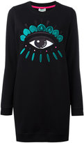 Kenzo Eye sweatshirt dress