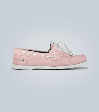 Loewe Suede boat shoes