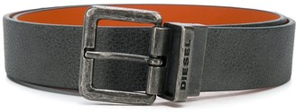 Diesel Textured Leather Belt