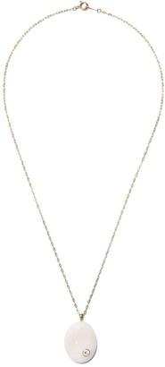 Cvc Stones 18kt Yellow Gold Diamond Stone Necklace
