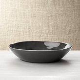Crate & Barrel Marin Dark Grey Pasta/Soup Bowl