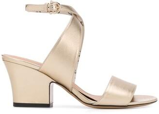 Salvatore Ferragamo Mid-Heel Block Sandals
