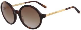 Diane von Furstenberg 54mm Sonata Round Sunglasses