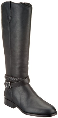 Frye & Co. & co. Medium Calf Leather Side Zip Tall Boots - Cellina