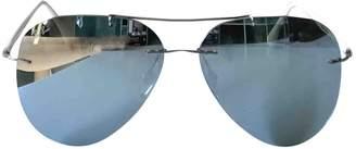 Ray-Ban White Plastic Sunglasses