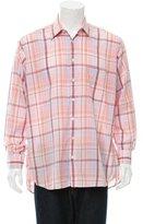 Burberry Madras Plaid Shirt