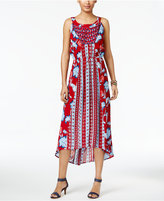 Style&Co. Style & Co Field Of Dreams Maxi Dress, Only at Macy's