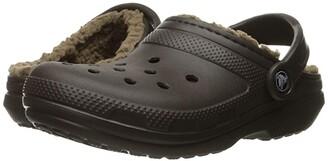 Crocs Classic Lined Clog (Slate Grey/Smoke) Clog Shoes