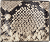 Maison Margiela Taupe Snake-embossed Wallet