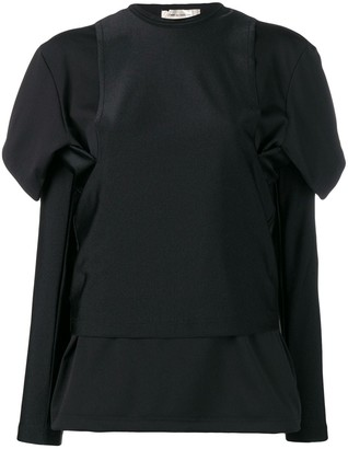 Comme des Garcons Layered Top