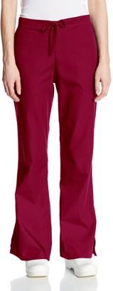 Cherokee Women's Workwear Scrubs Flare-Leg Drawstring Pant (Size 2X-5X)