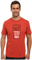 Life is Good Half Full Pint Crusher Tee