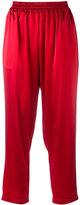 Gianluca Capannolo cropped trousers - women - Polyester/Triacetate - 42