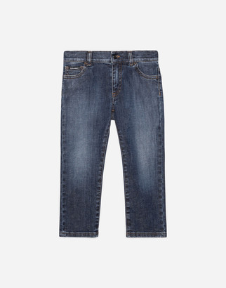 Dolce & Gabbana Regular Fit Denim Jeans