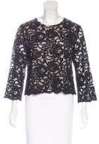 Kate Spade Long Sleeve Lace Top