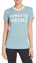 Spiritual Gangster Women's Namaste Beaches Tee