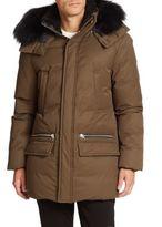Mackage Stefano Fur-Trimmed Puffer Coat